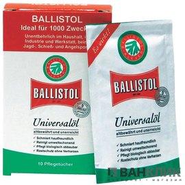 Салфетки для чистки Ballistol 10шт/уп 21950