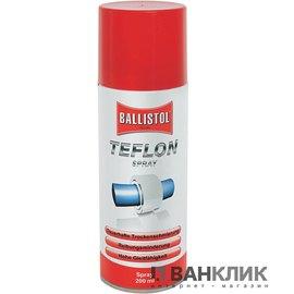 Средство для ухода Ballistol Тефлон PTFE 200мл спрей 25600