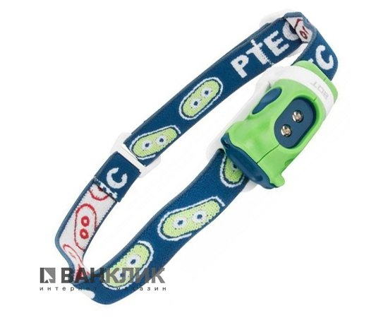 Фонарь туристический налобный Bot LED зеленый/синий (795626016978)