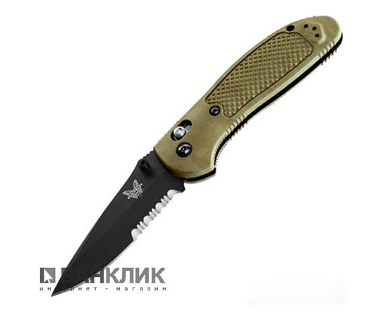 Нож Benchmade Pardue Axis Olive (551SBKOD)
