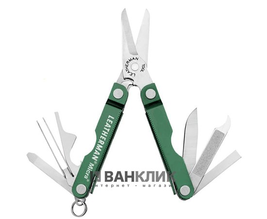 Мультитул Leatherman Micra-Green 64350181N