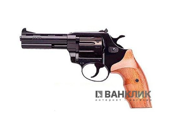 Револьвер под патрон Флобера Alfa 441 (черный, дерево)