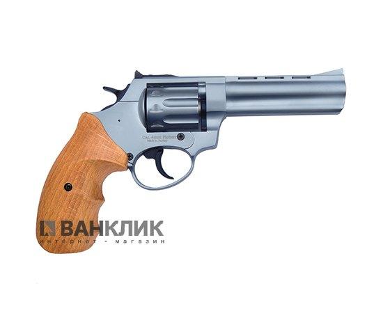 Револьвер под патрон Флобера Ekol Viper 4.5 никель бук-2