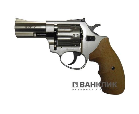 Револьвер под патрон Флобера Profi 3 сатин бук