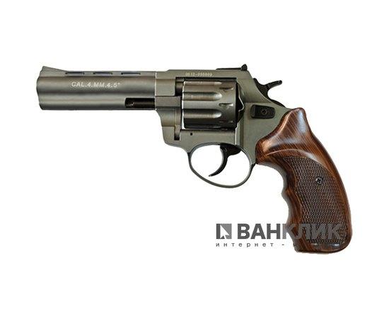 Револьвер под патрон Флобера Stalker 4.5 Titanium (коричневый пластик)