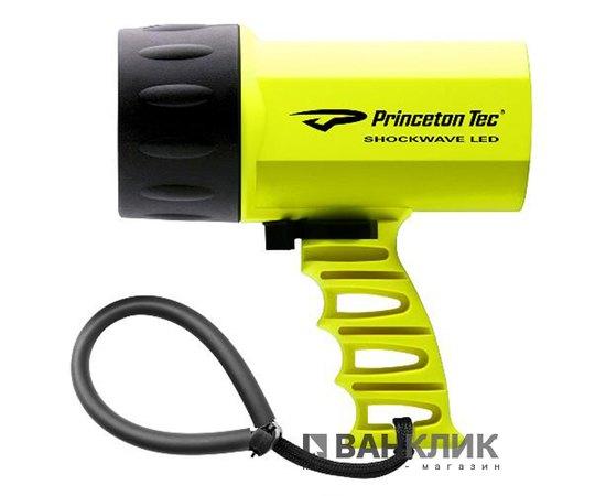 Фонарь для дайвинга ручной Shockwave LED неоновый/желтый (795626014134)