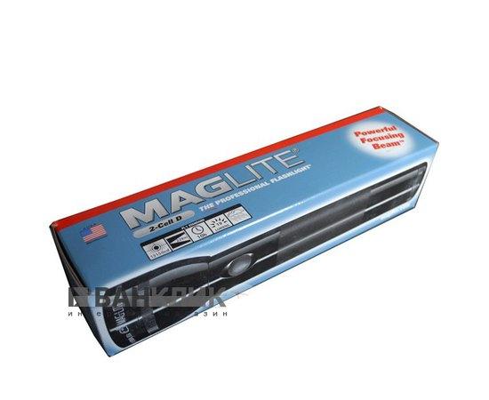 Фонарь Maglite 2D (темно-синий) в коробке (S2DFD5U)