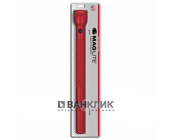 Фонарь Maglite 6D (красный) в блистере (S6D036R)