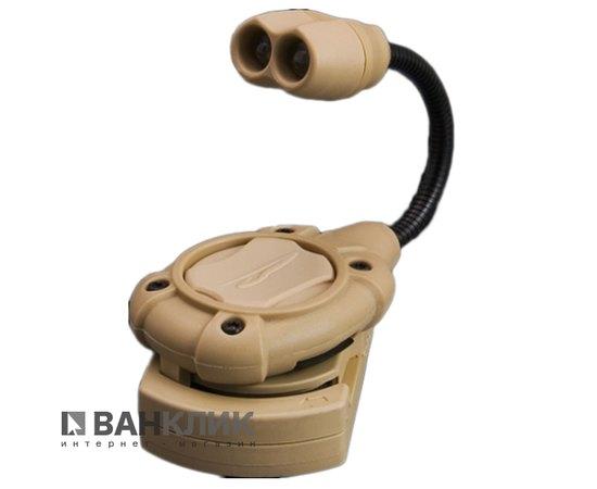 Фонарь тактический специальный Switch MPLS светло-коричневый/красный (795626016312)