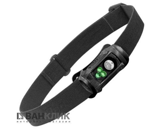 Фонарь туристический налобный Remix Pro LED черный/зеленый (795626015100)