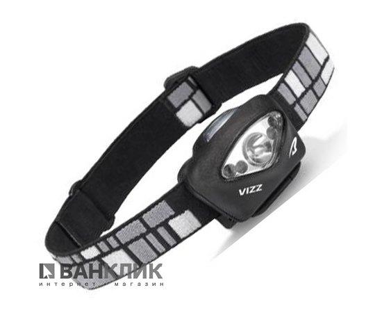 Фонарь туристический налобный Vizz LED черный (795626019986)