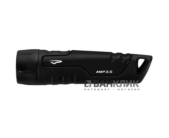 Фонарь туристический ручной AMP 3.5 LED черный (795626015490)