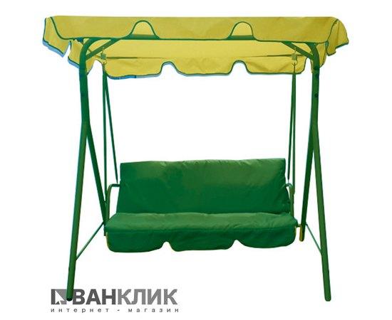 Садовая качель Eleyus MALVA 15 YL+GN