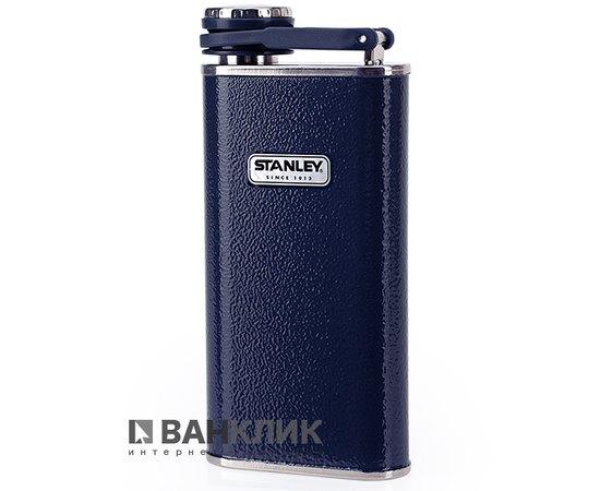 Фляга Stanley Classic объемом 0.23л темно-синяя (6939236321662)