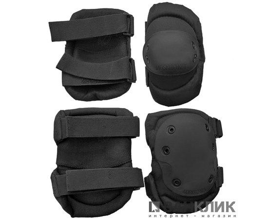 Комплект наколенники + налокотники Roco 600D PVC, черный (VT-45)