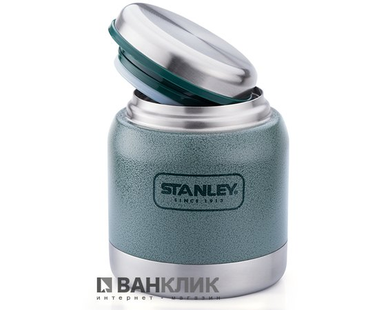 Термобанка для еды Stenley объемом 0,29 л зеленая (6939236321556)