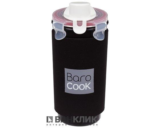 Термостакан Barocook Café черный, 360 мл (8809069390235)