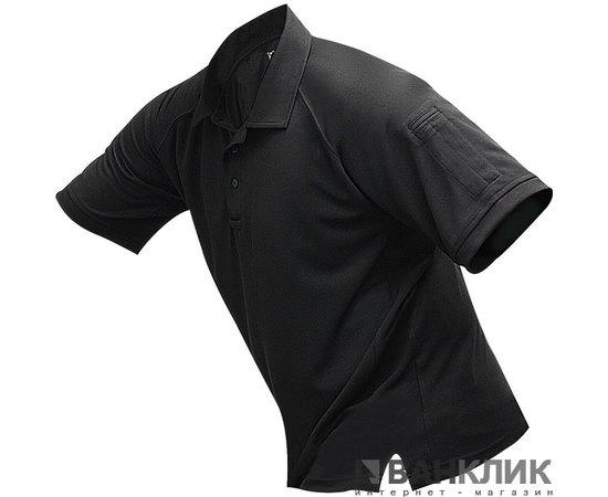 Футболка-поло тактическая мужская Vertx p.M (черная) (4000BKP)