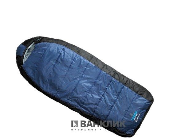 Спальный мешок Caribee Tundra Jumbo / -10°C Steel Blue (Right) 921424