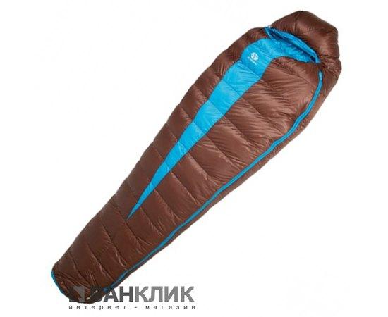 Спальный мешок Sir Joseph Paine 900/190/-12.4°C Brown/Turquoise (Right) 922295