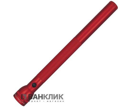 Фонарь Maglite 6D (красный) в картонной коробке (S6D035R)