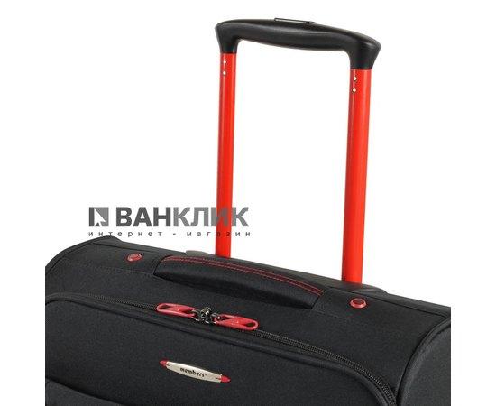 Чемодан Members Hi-Lite (S) Black 922606