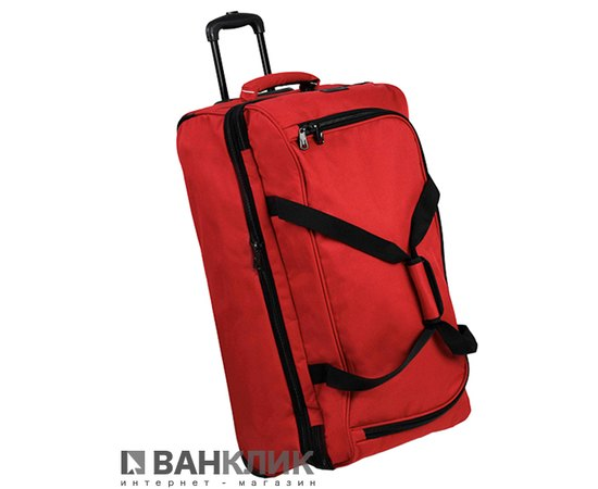 Сумка дорожная Members Expandable Wheelbag Extra Large 115/137 Red 922558