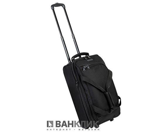Сумка дорожная Members Expandable Wheelbag Small 33/42 Black
