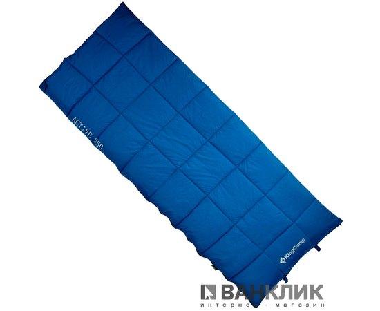 Спальный мешок KingCamp ACTIVE 250 DOUBLE L Blue KS3189