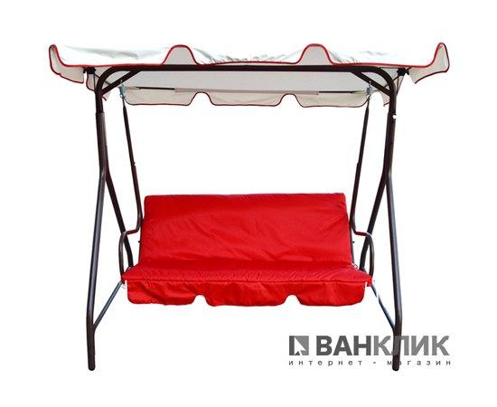 Садовая качель Mousson IRIS 2 BG+RED
