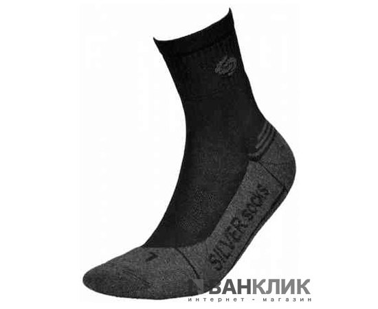 Носки InMove ATHLETIC DEODORANT SILVER ads.black/anthracite.41–43
