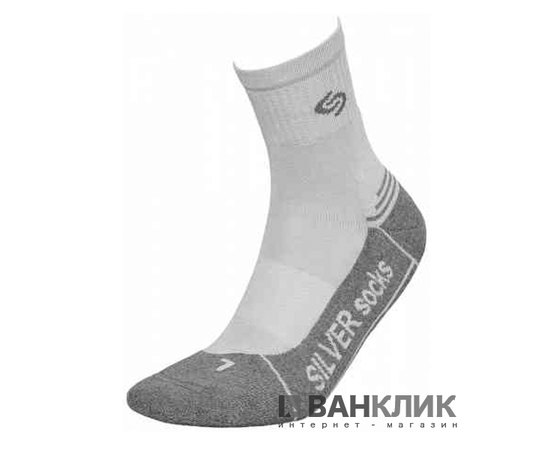 Носки InMove ATHLETIC DEODORANT SILVER ads.light grey/graphite.44–46