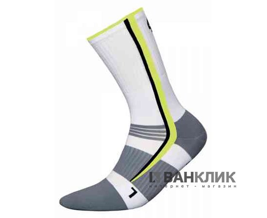 Носки InMove BIKE DEODORANT SILVER bds.white/green.41–43