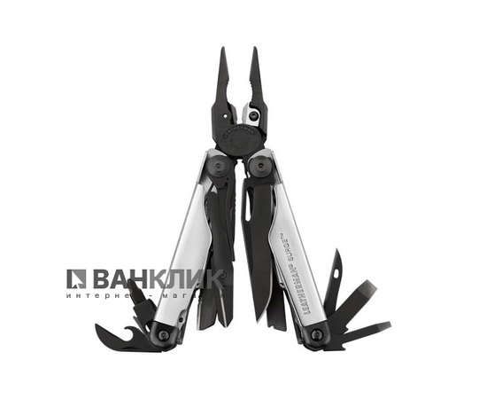 Мультитул Leatherman Surge BLACK&SILVER 832462
