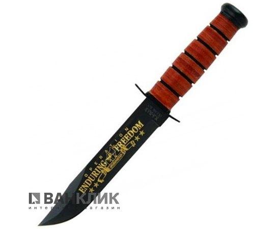 Нож Ka-Bar Army OEF Afghanistan comm. + Стенд Small Excalibur (а.1429) 9168SE