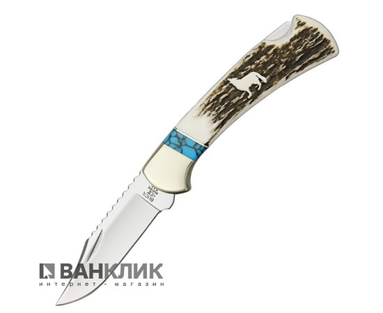 Нож Buck WBC Wolf Series w/Elk Handle 112EKSLE