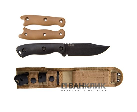 Нож Ka-Bar Short Becker Clip Point BK17