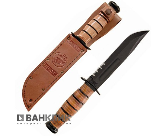 Нож Ka-Bar USMC Fixed Blade 1218