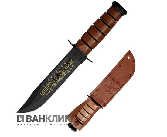 Нож Ka-Bar USMC OEF Afghanistan comm. + Стенд Small Excalibur(а.1429) 9169SE