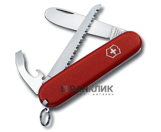 Нож My First Victorinox красный 2.2373